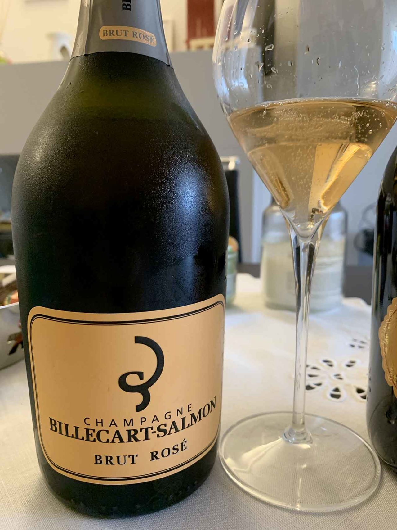 champagne rosé brut Billecart-Salmon