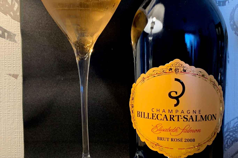 champagne rosé Billecart-Salmon Elisabeth Salmon Brut Rosé Millésime 2008