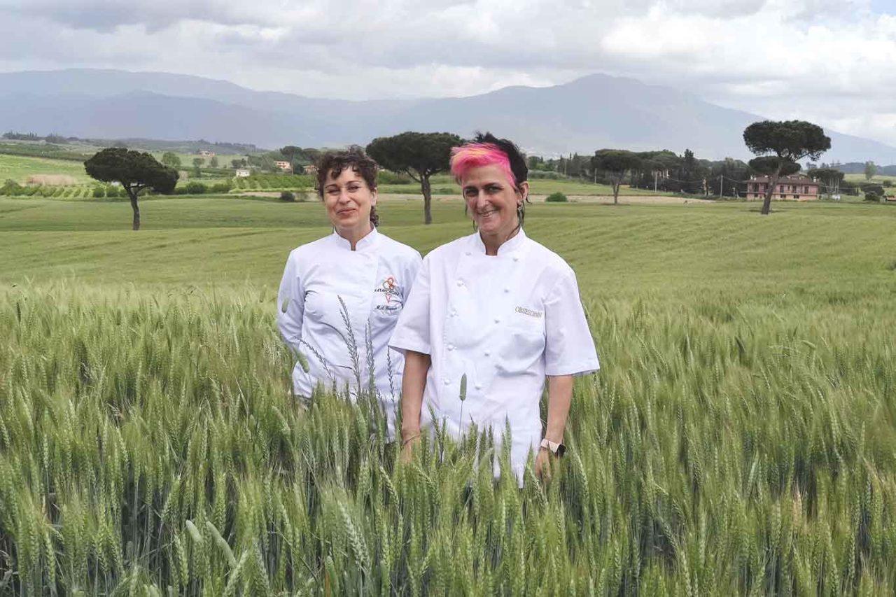Maria Agnese e Cristina Bowerman gelato Fatamorgana