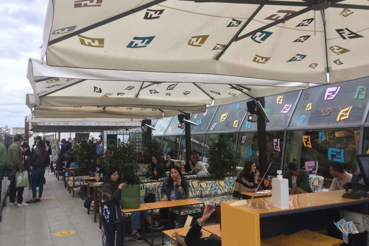fendi caffe temporary rinascente duomo novità a Milano
