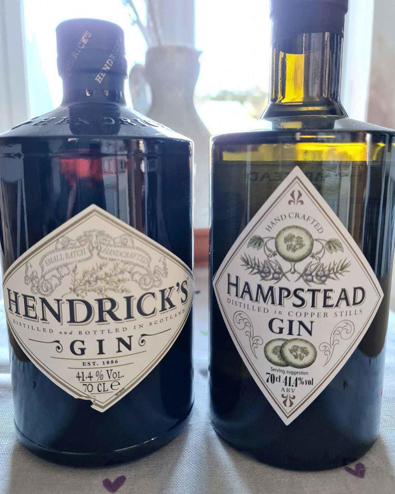 Gin Hendricks e gin Lidl