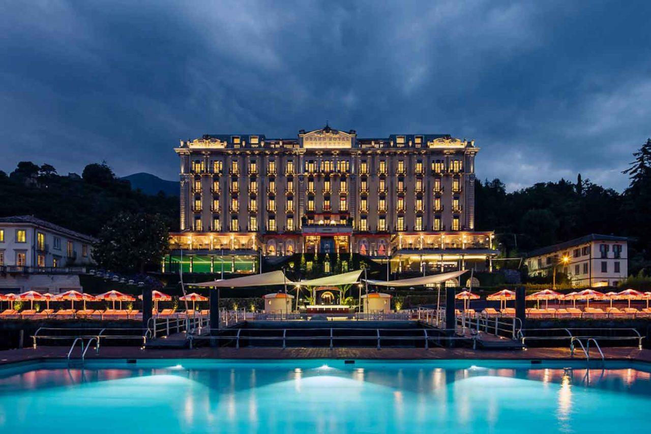 grand hotel tremezzo facciata lago como