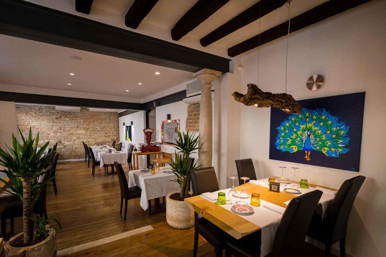 interno ristorante Stefano Mocellin Padovanino