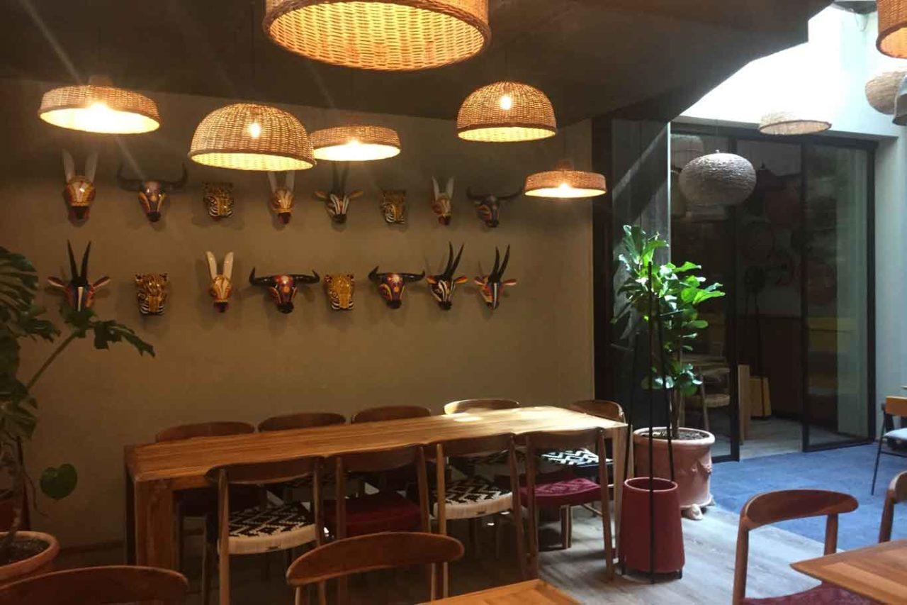 nuove aperture a Milano: mitu milano ristorante colombiano sala