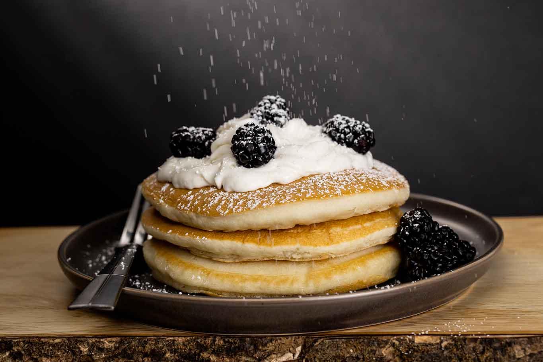 Pancake zucchero a velo