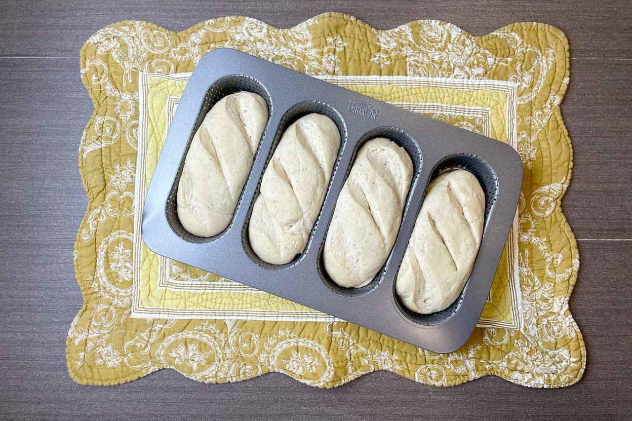 pane con farina di ceci filoncini