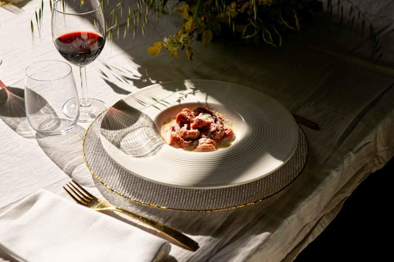 Appetitoo piatto a tavola