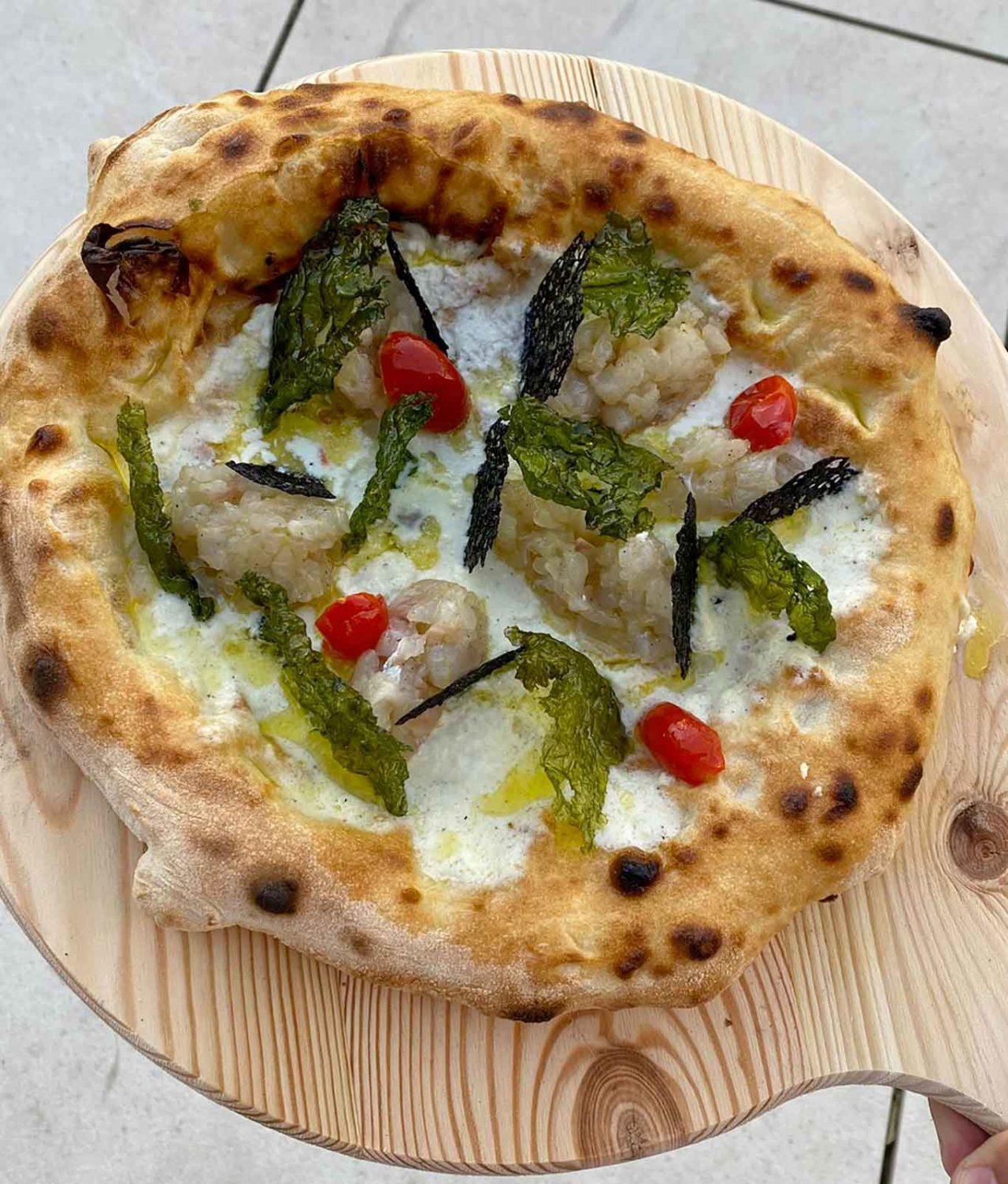 pizze per l'estate 2021: Profumi del Golfo