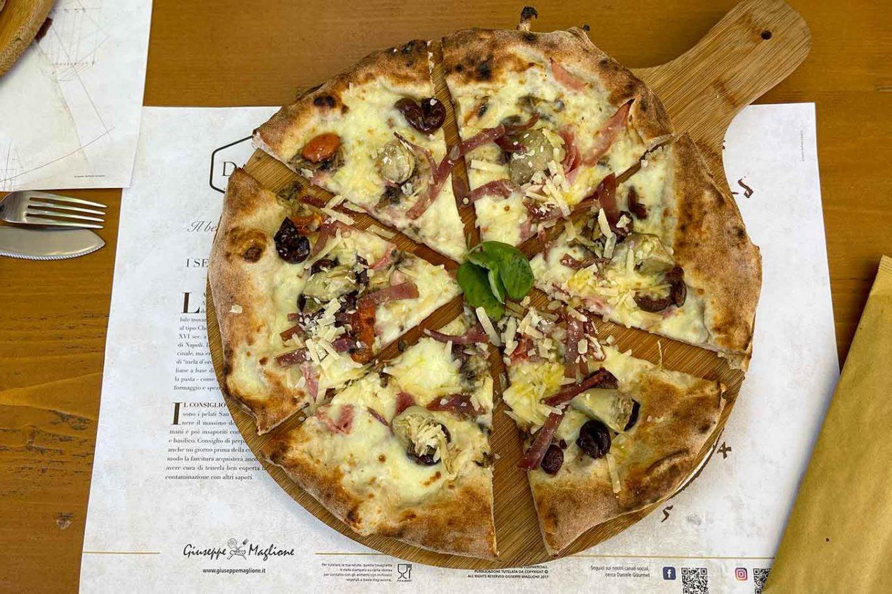 pizza capricciosa di Giuseppe Maglione