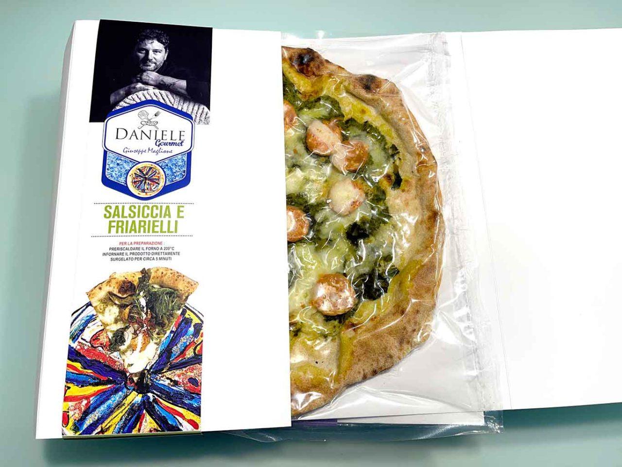 pizza salsiccia e friarielli di Giuseppe Maglione da finire a casa