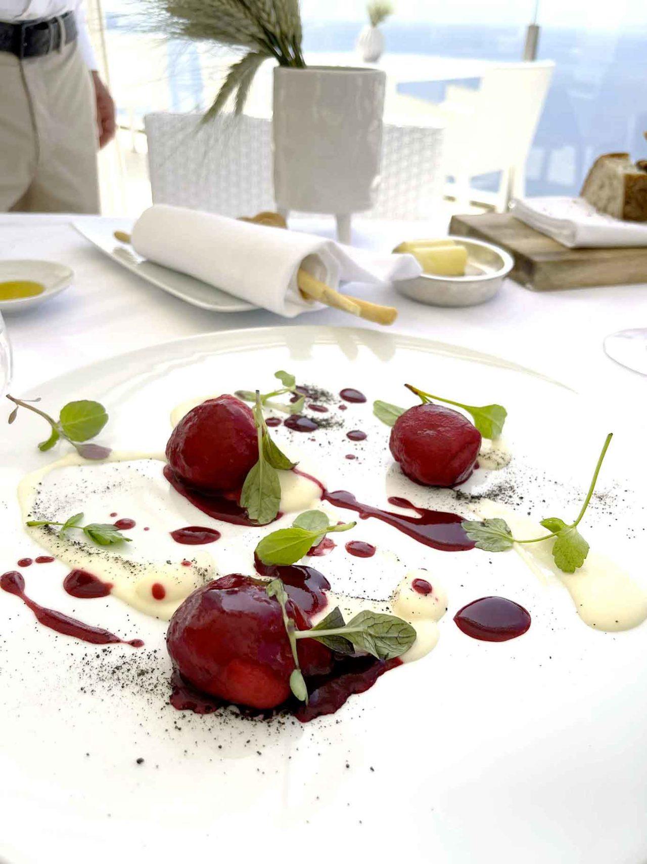 ristorante Relais Blu gnocchi