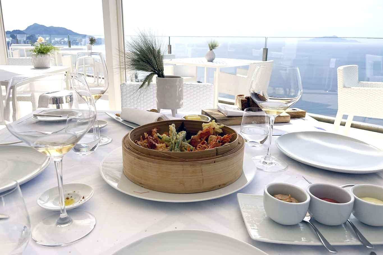 ristorante Relais Blu costiera sorrentina tavolo panorama