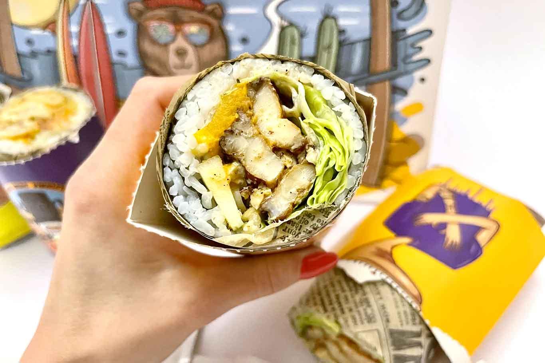 sushi burrito a Palermo Boorry