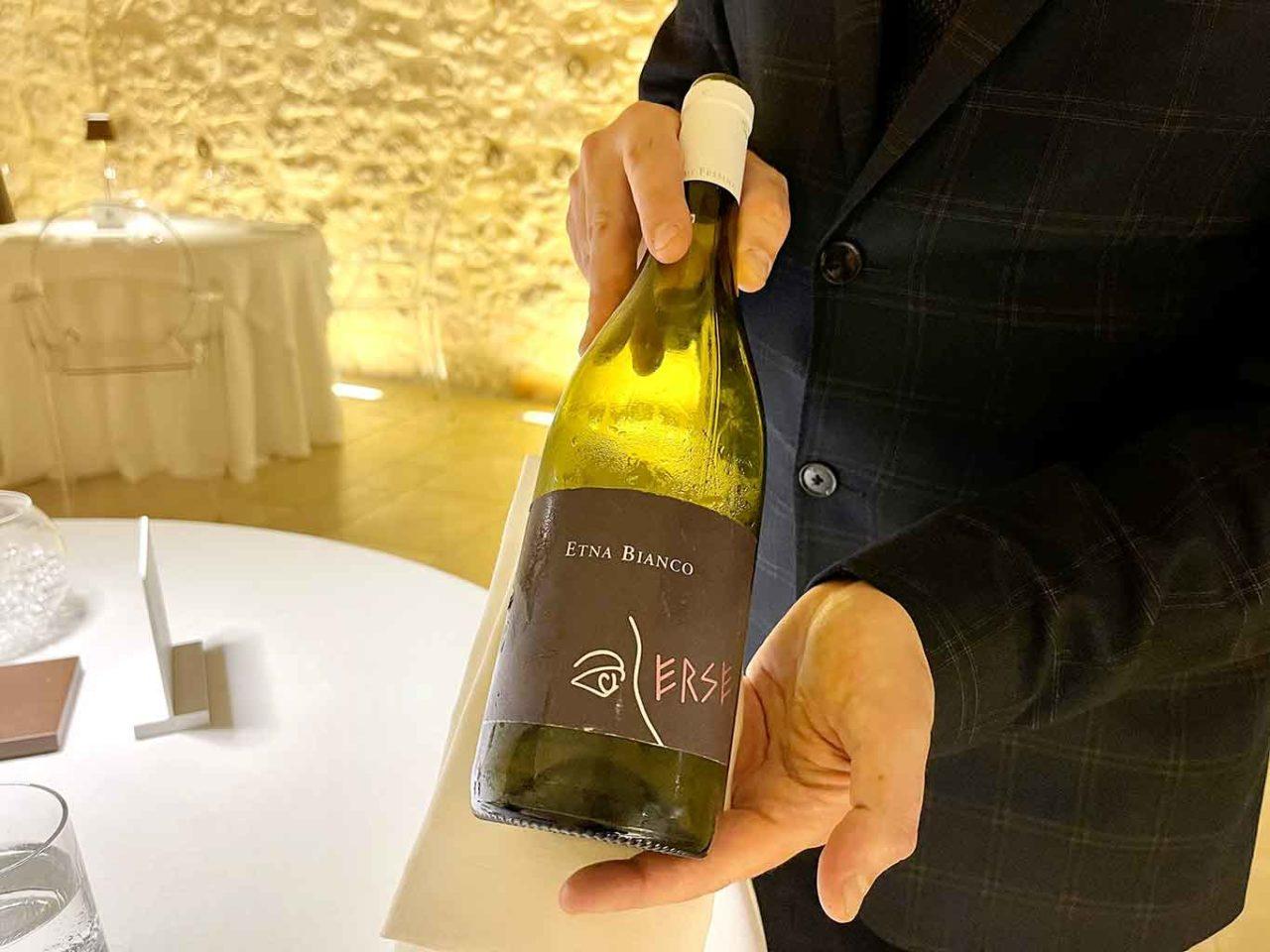etna bianco vino