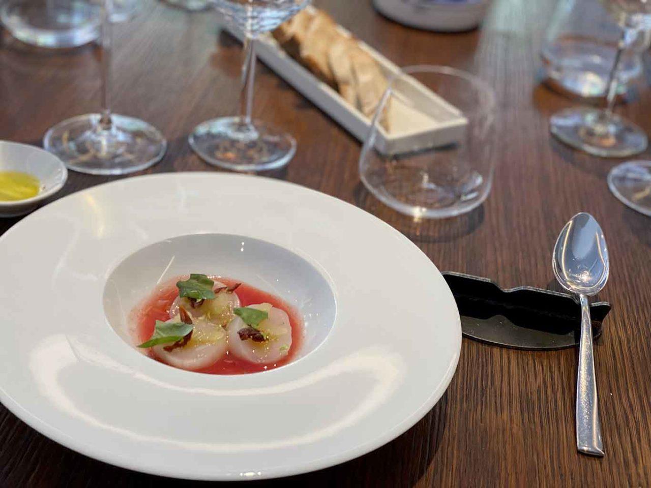 Acciuga ristorante di pesce a Roma capasanta