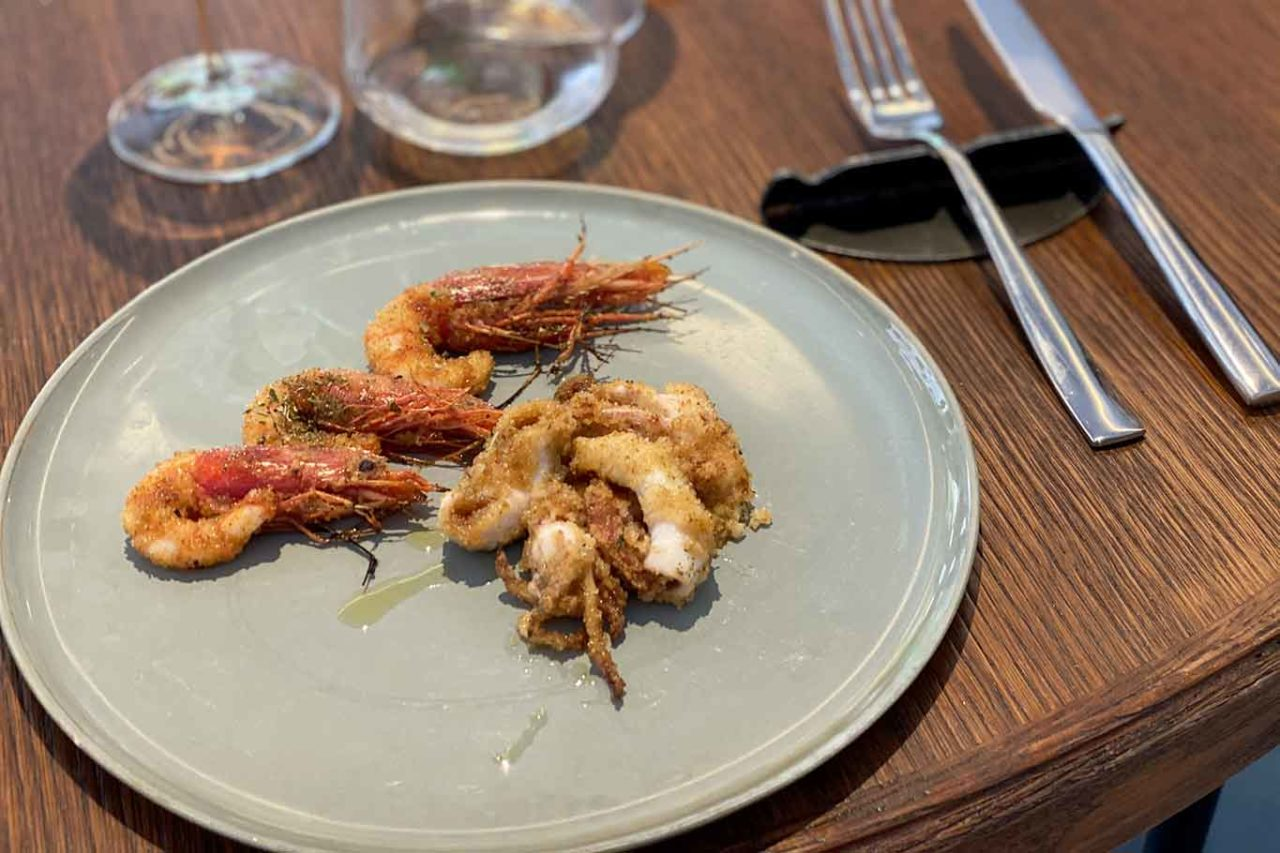 Acciuga ristorante di pesce a Roma scottadito di mare
