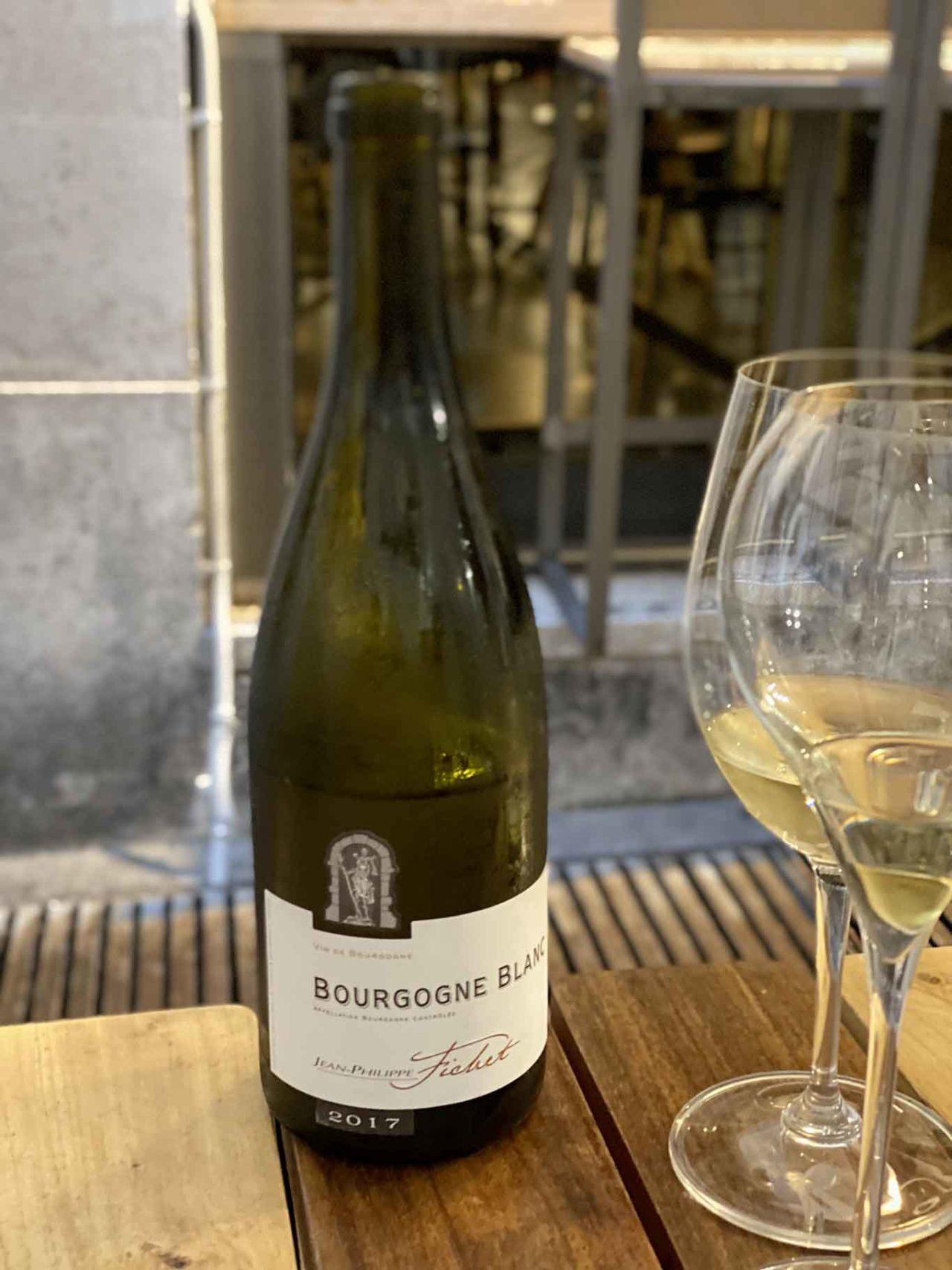 vino Bourgogne Blanc