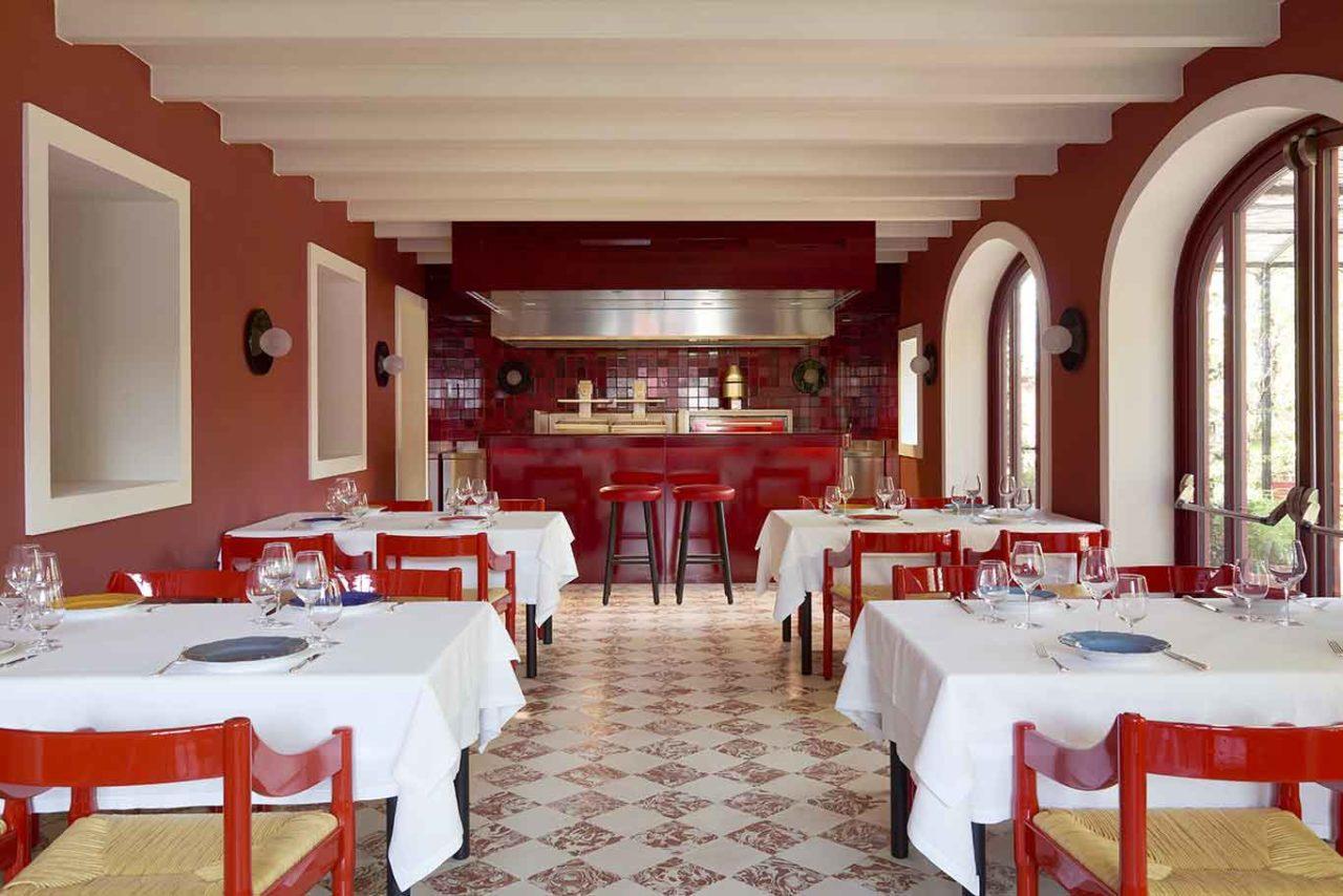 ristorante Cavallino Maranello Ferrari sala