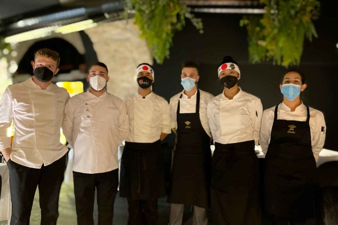 Hoshi Salerno ristorante giapponese staff