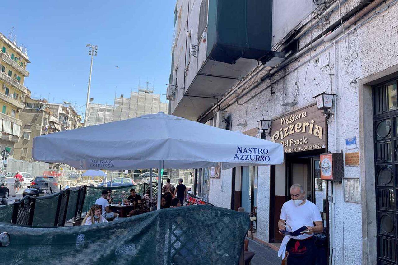Pizzeria del Popolo Napoli dehors