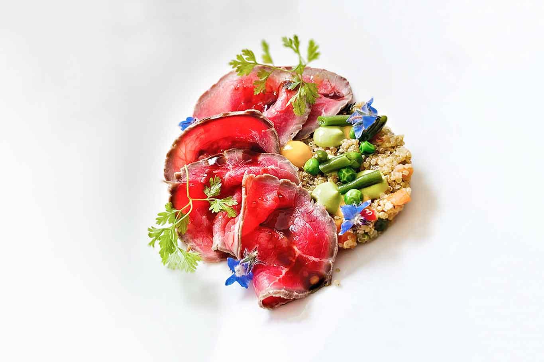 Quebracho ristorante carne Pescara tataki sashi