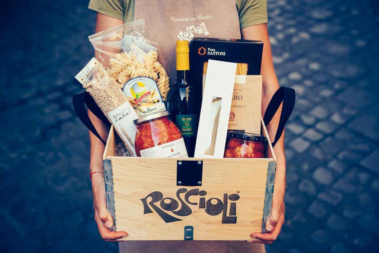 box spesa da Rimessa Roscioli Roma
