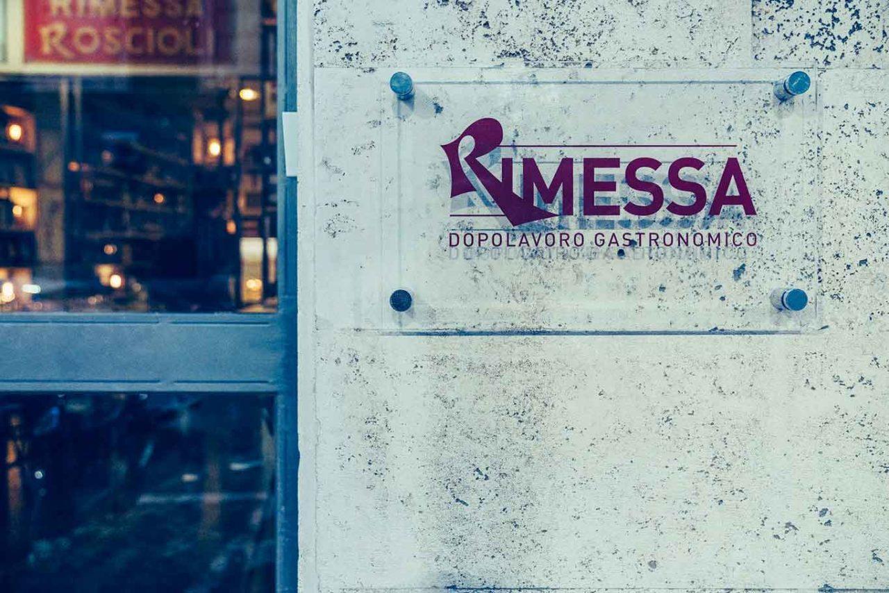 Rimessa Roscioli Roma insegna
