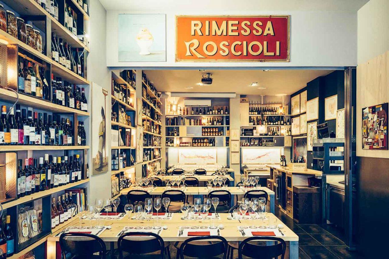 Rimessa Roscioli Roma tavoli
