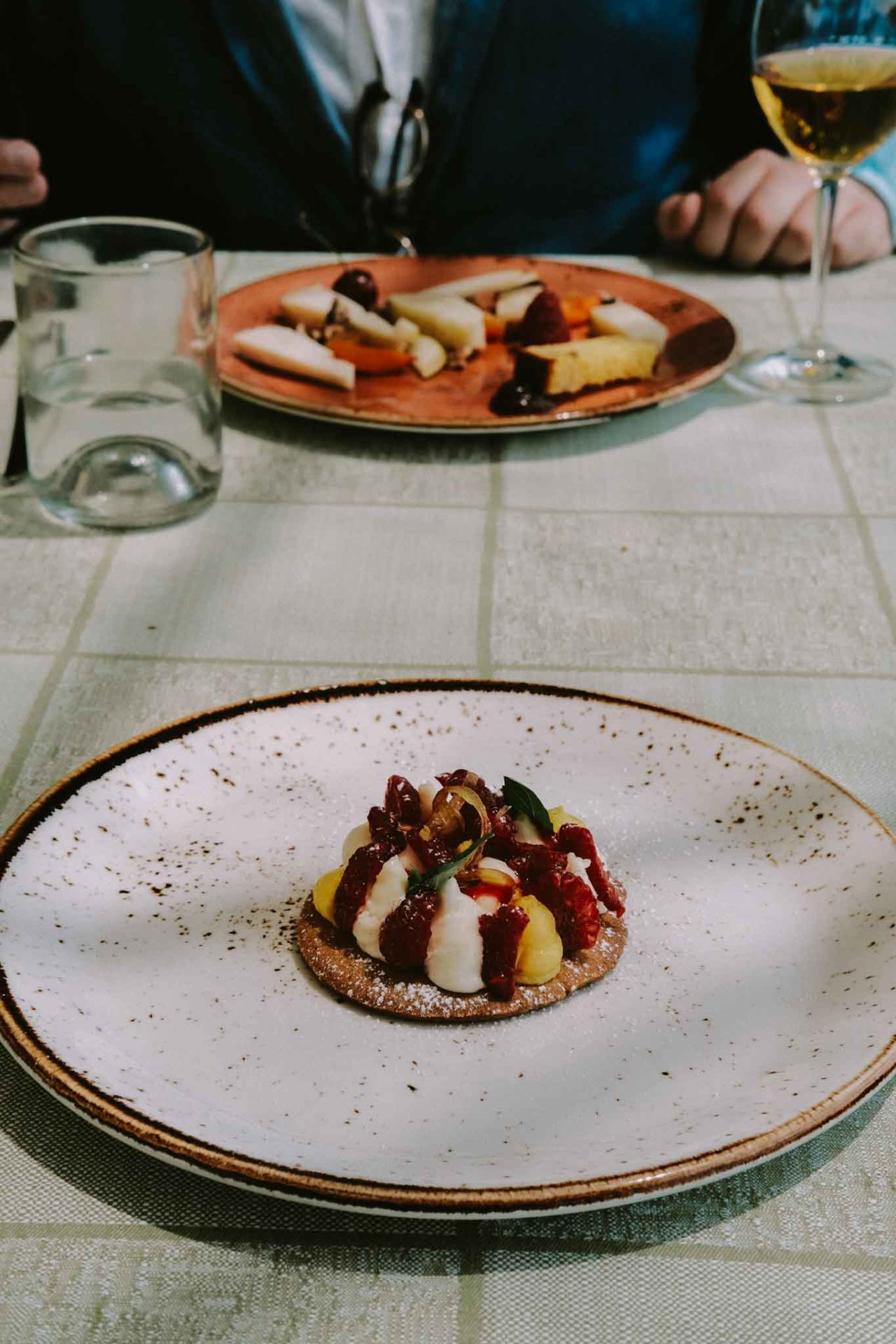 Rinuccio 1180 ristorante Antinori Chianti Classico dolce