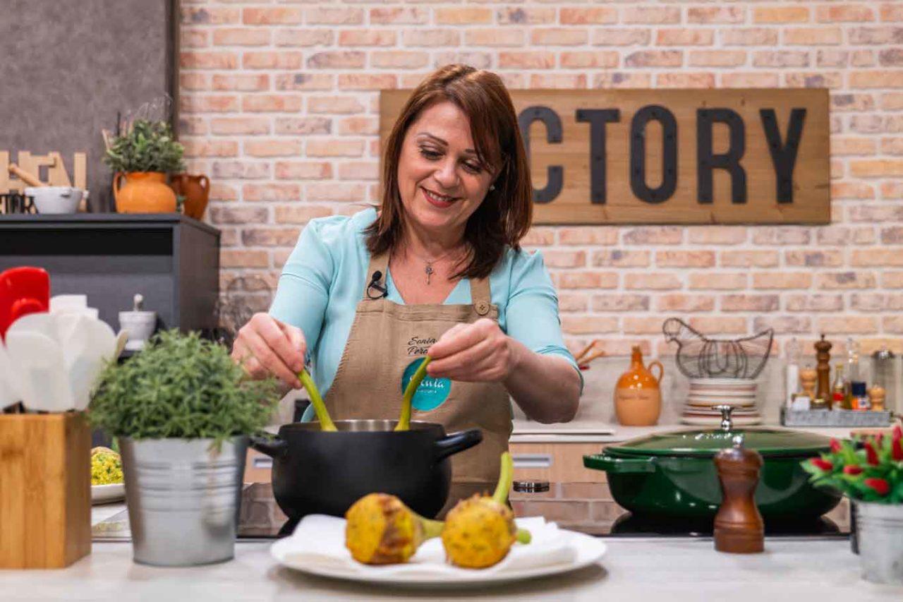 Sonia Peronaci in cucina