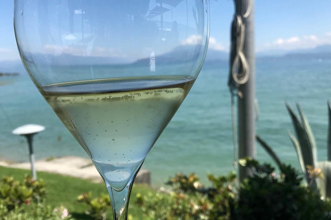 ristorante Tancredi a Sirmione vista lago di Garda
