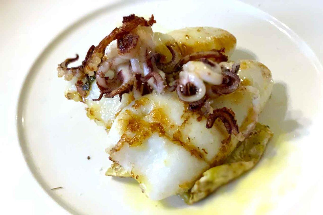 Trattoria San Domenico Ortona Abruzzo calamaro mollicato