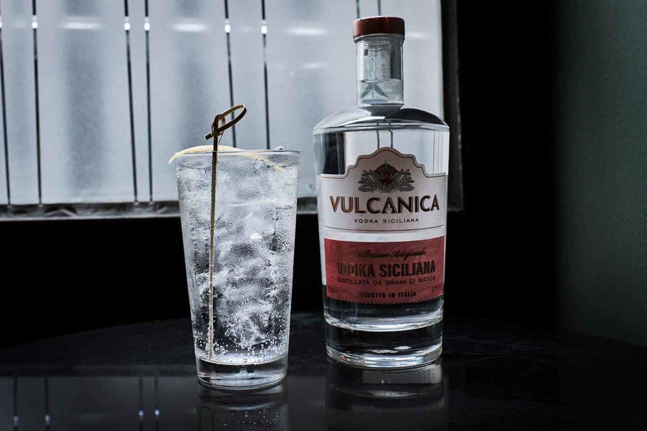 Vodka Vulcanica Tonic