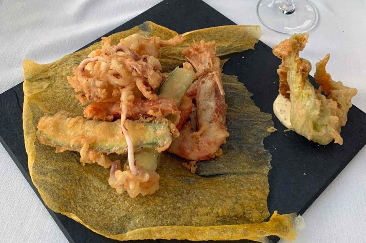 ristoranti sul mare in Liguria: arenella a zoagli fritto