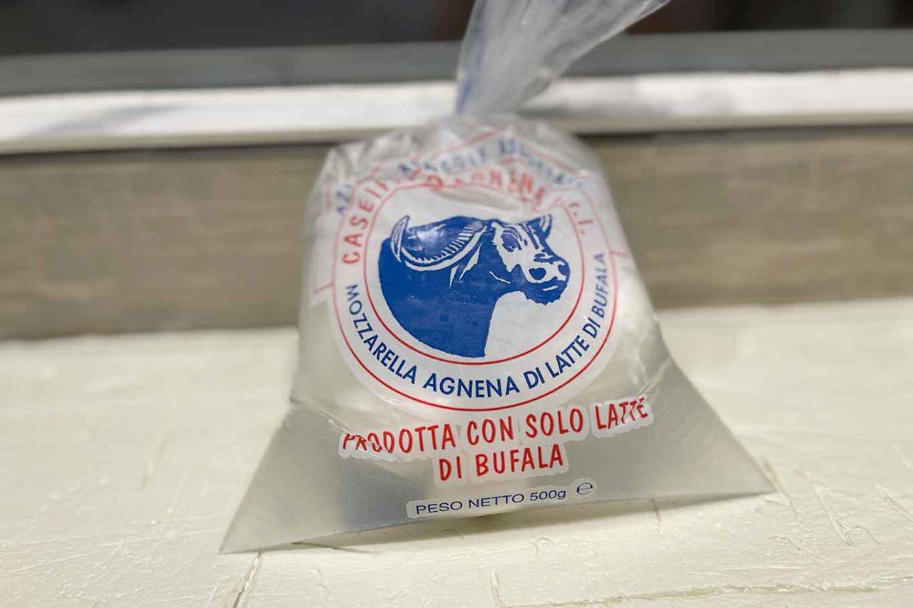 4 mozzarelle di bufala Dop: Agnena
