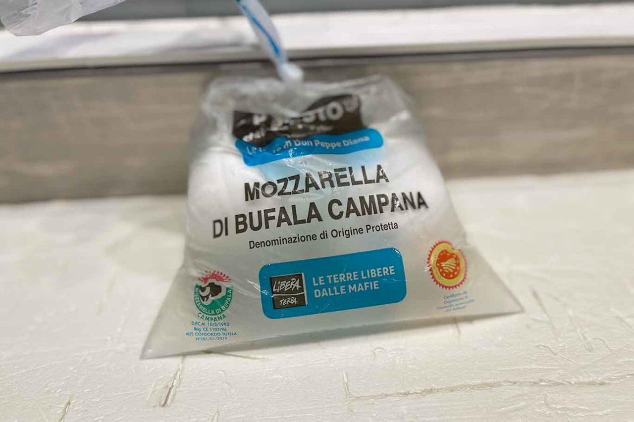 4 mozzarelle di bufala Dop: Don Peppe Diana