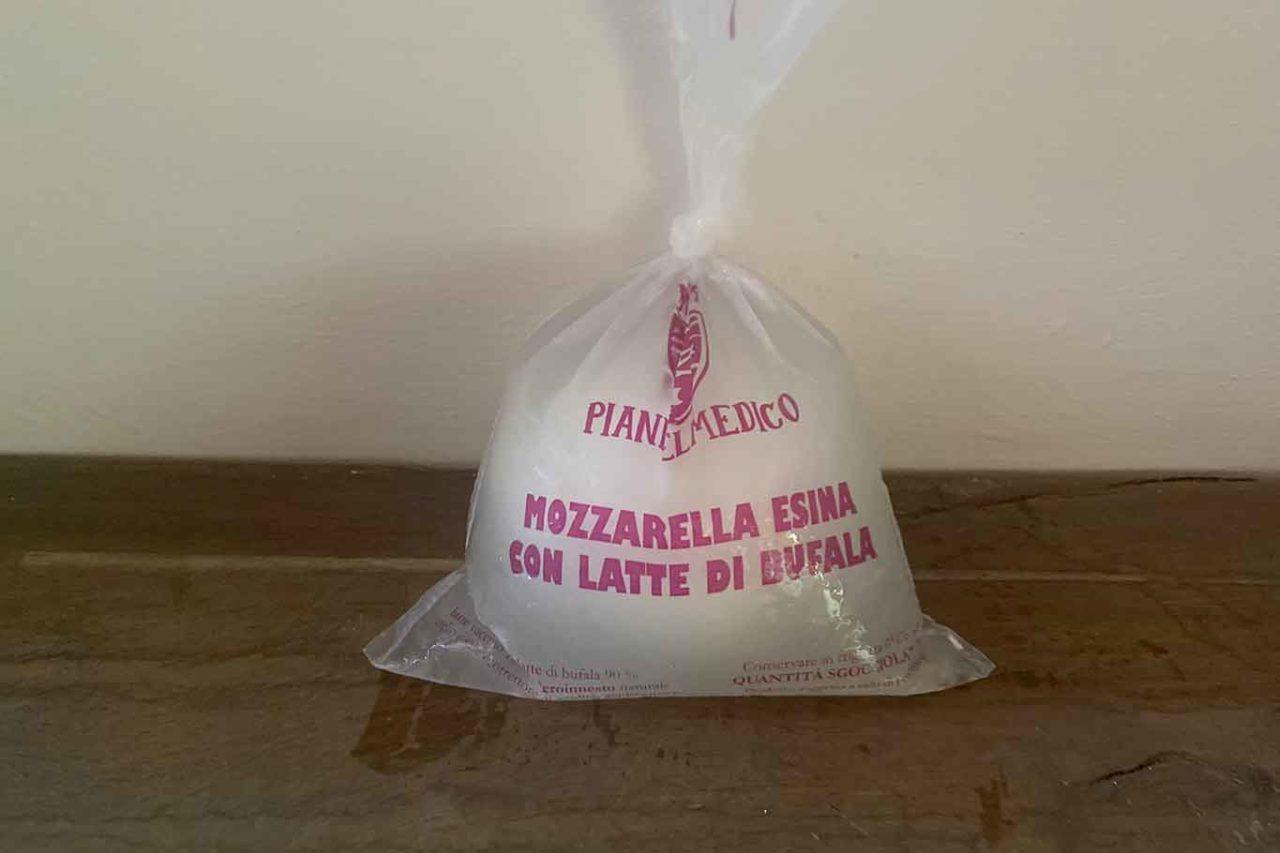 mozzarella esina
