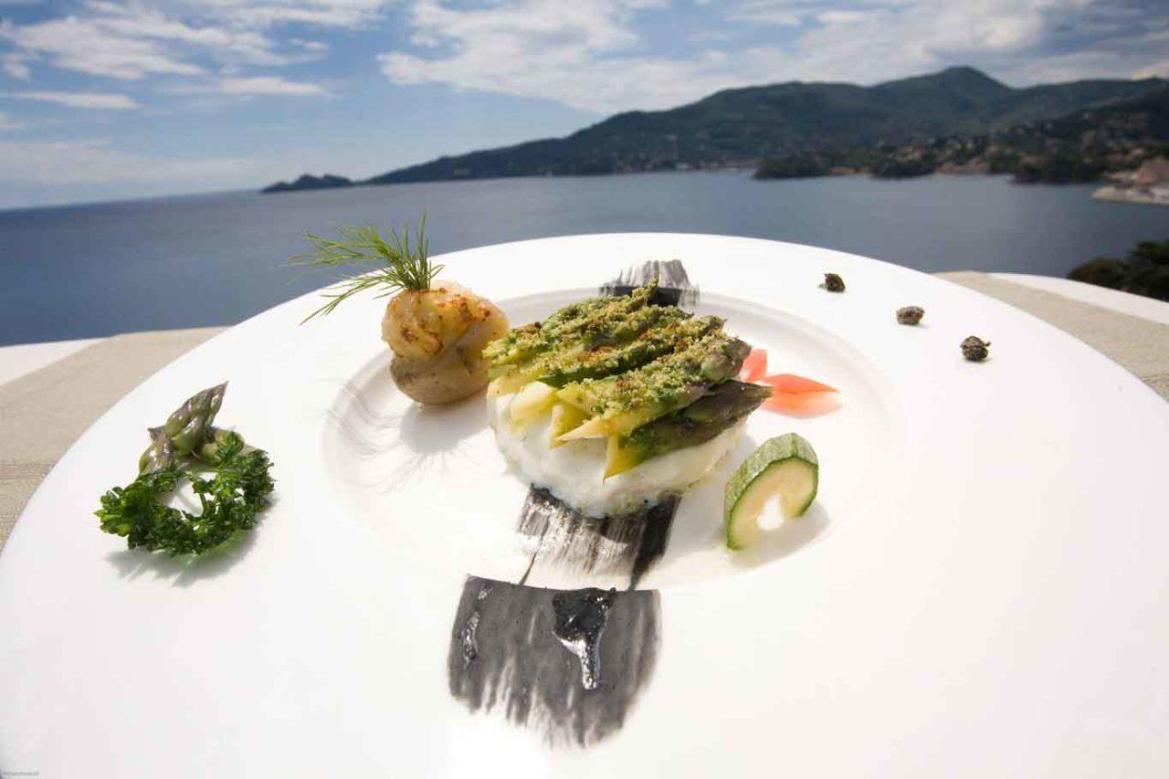 ristoranti sul mare in Liguria: cupole bristol rapallo tigullio