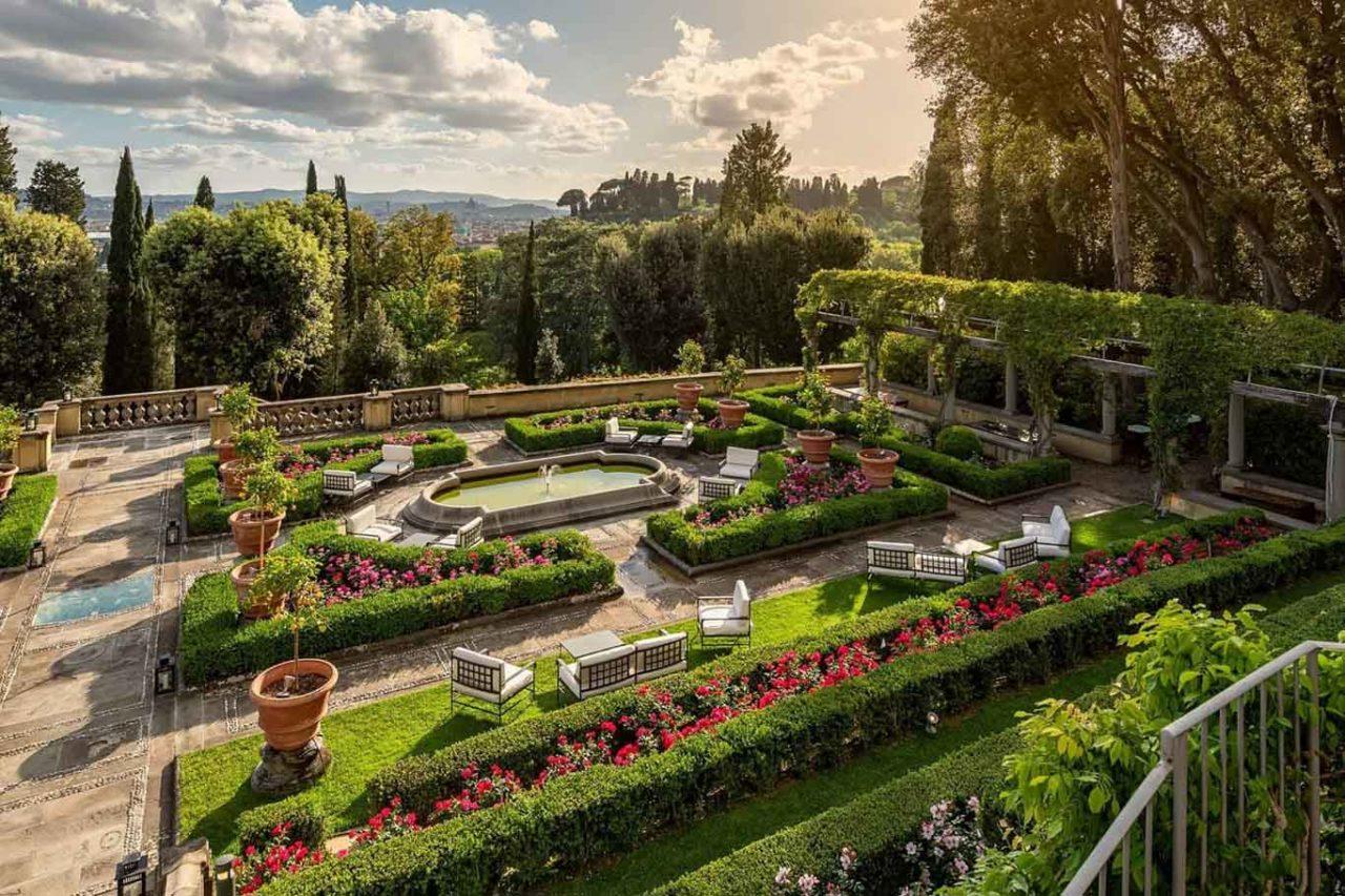il salviatino giardino all'italiana