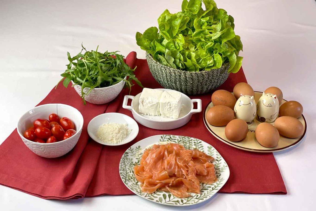 girelle rucola e salmone ingredienti