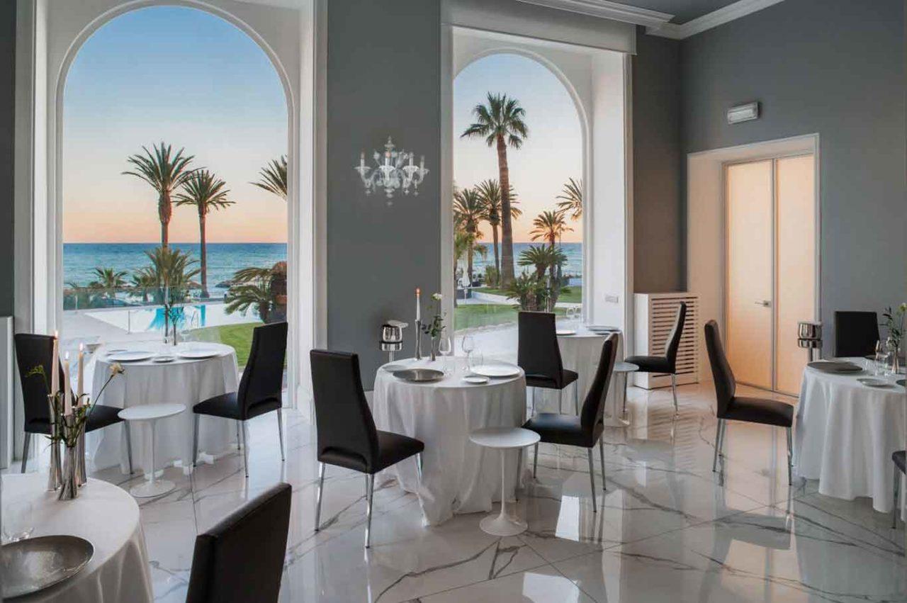 Miramare the Palace interno ristorante
