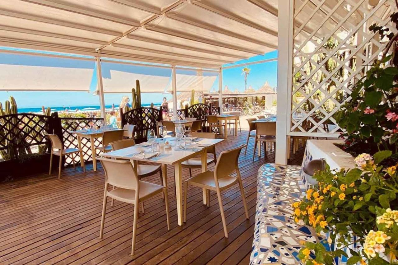 Pino al mare, stabilimento, albergo e ristorante di pesce