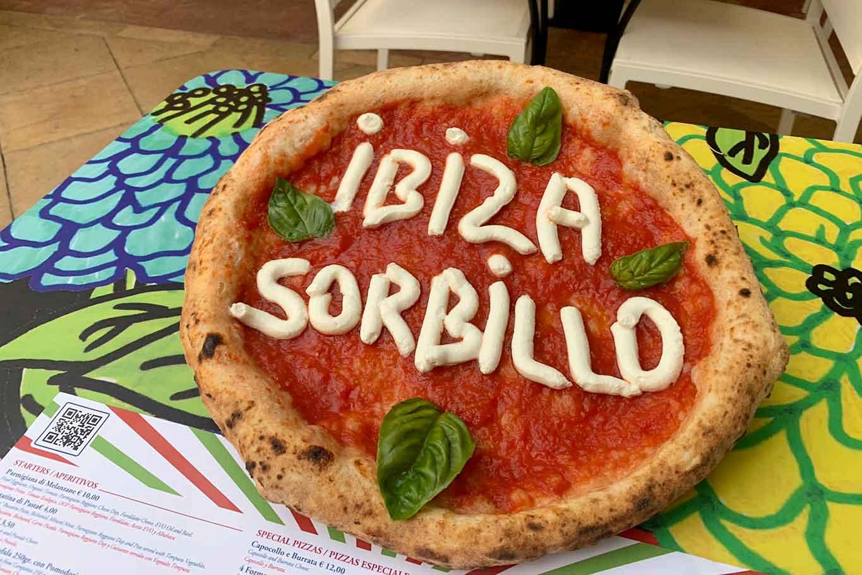 pizza Sorbillo Ibiza