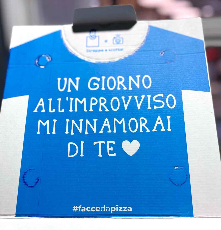pizzeria Pizza Napoletana Calata Capodichino Napoli cartone pizza