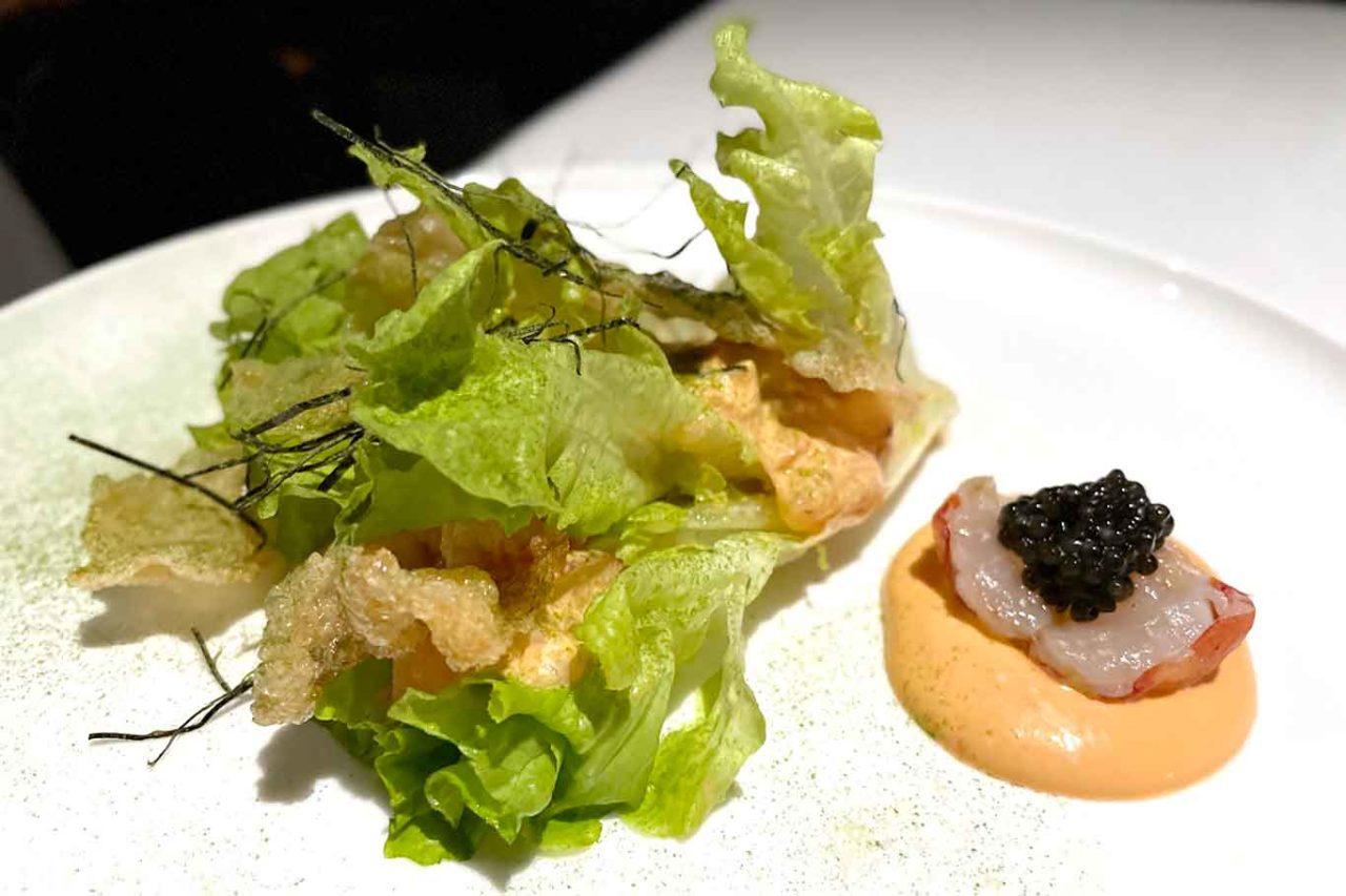 nuovo ristorante Aria Napoli astice e caviale