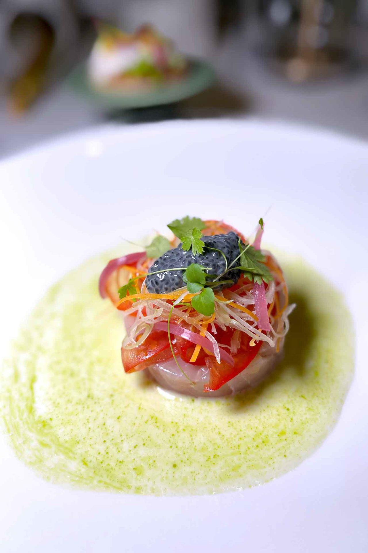 nuovo ristorante Aria Napoli ceviche italiano