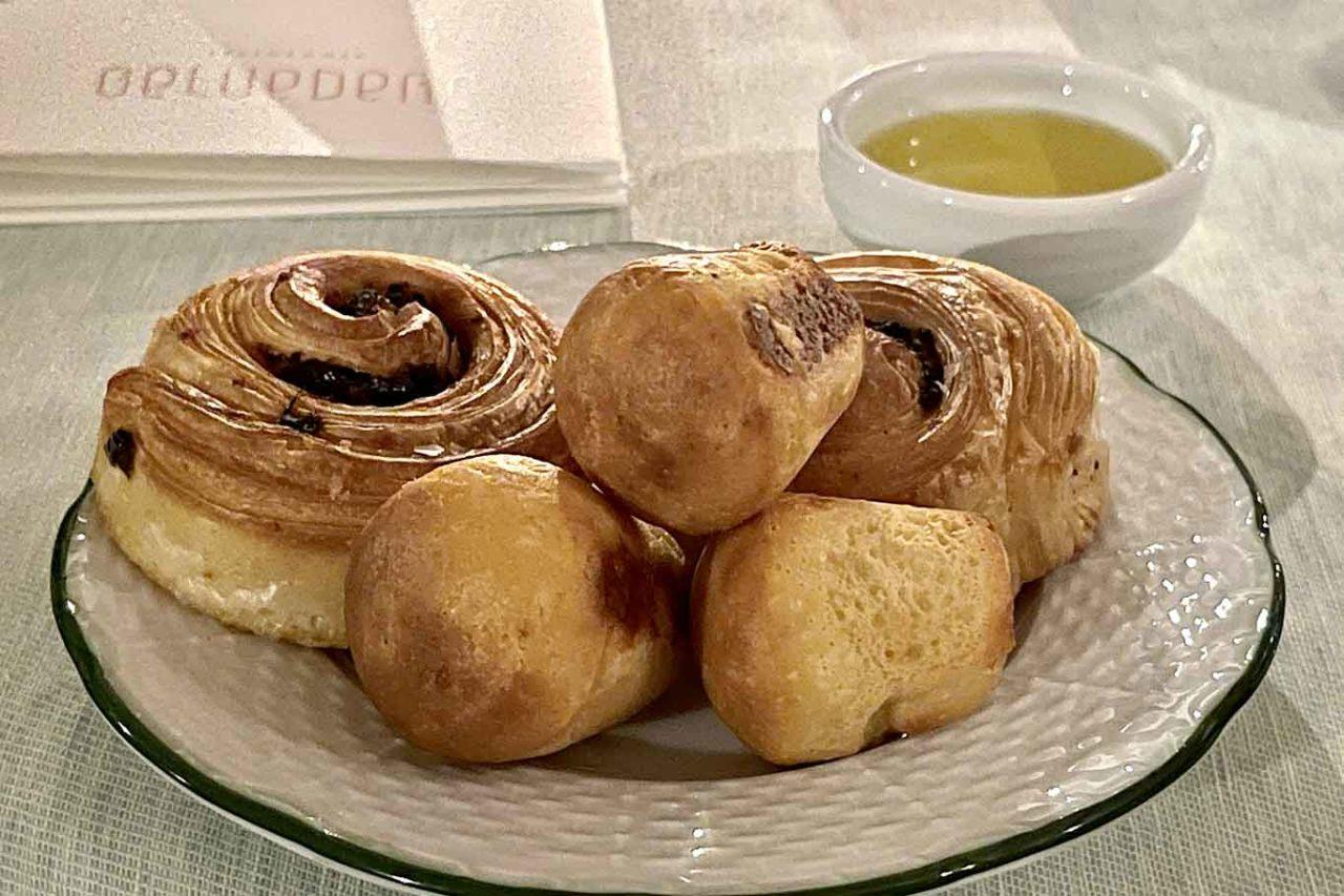 ristorante Belvedere Hotel Caruso Ravello pane