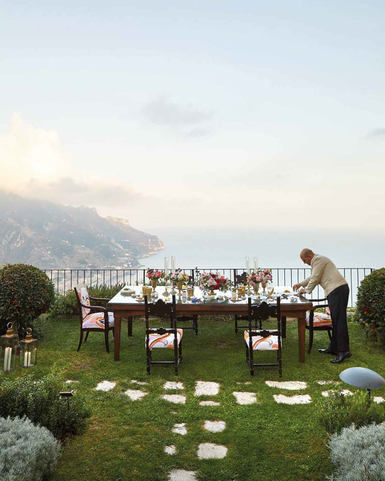 ristorante Belvedere Hotel Caruso Ravello panorama