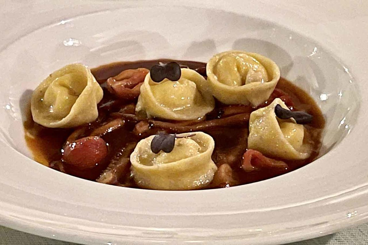 ristorante Belvedere Hotel Caruso Ravello tortelli alla luciana