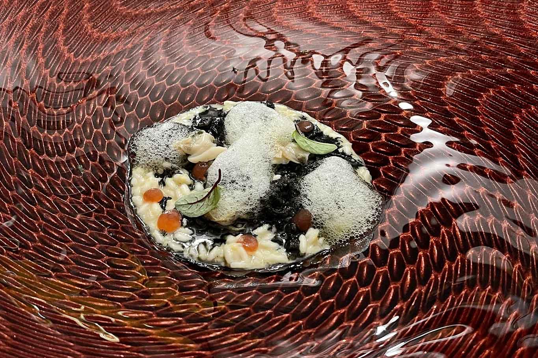 ristorante Indaco Ischia risotto